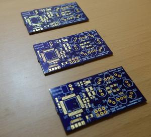 Rev D Circuit Boards